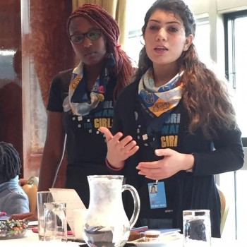 @wagggs_world delegate asking 4 #girls at centre of policy #Beijing20 #CSW59 #girlsrights are #humanrights @pakUn_ny